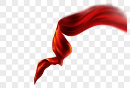 红旗元素图片