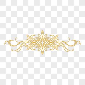 欧式边框花纹分割线图片
