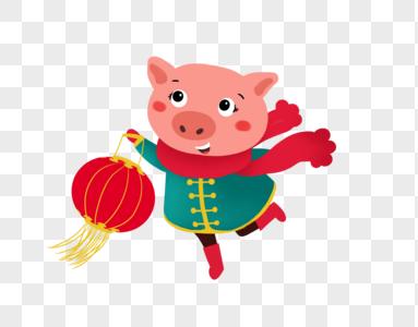 新年小猪图片