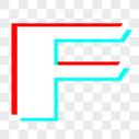 英文字母F图片
