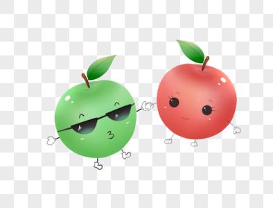 平安夜苹果元素图片