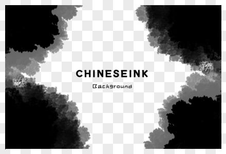 中国水墨背景图片