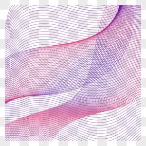 红色波浪线图片