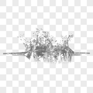 透明水滴和水图片
