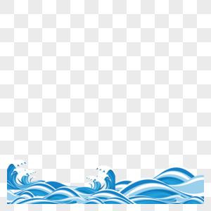 海浪纹理图片
