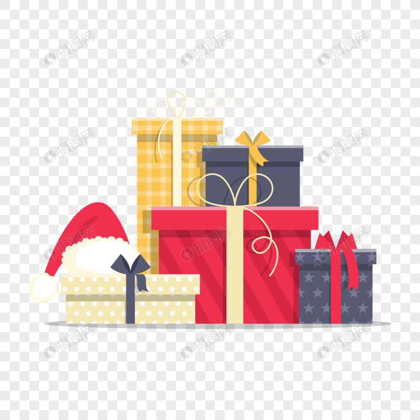 圣诞背景音乐下载_礼物盒元素元素素材下载-正版素材400789643-摄图网