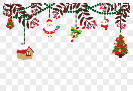 创意圣诞节装饰素材图片