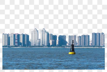 厦门城市岸边风景图片