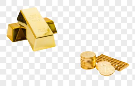 金砖硬币算盘图片