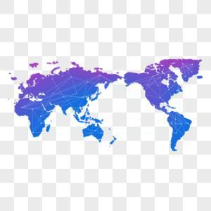 世界地图元素图片