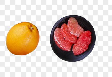 红心蜜柚图片