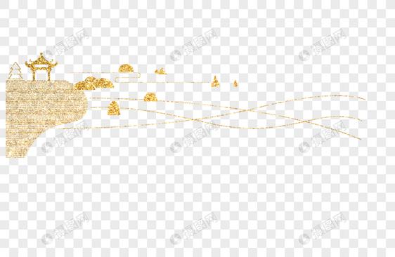 风景线条图案图标