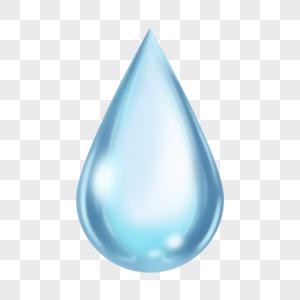 创意水滴透明素材图片