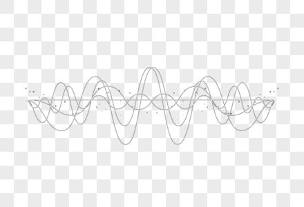 波浪线图片