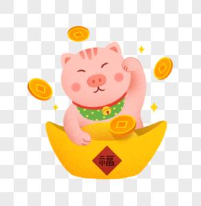 招财猪图片