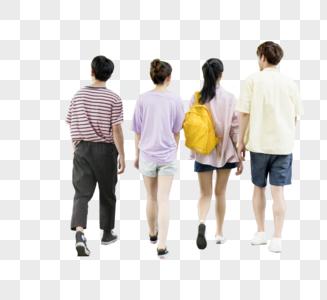 学生背影图片