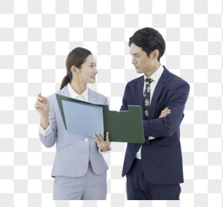 商务人像办公场所形象照图片