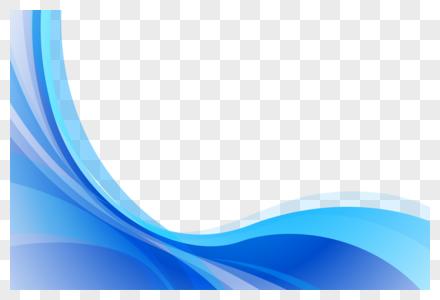 波纹动感科技元素图片