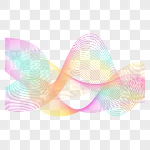 波浪线条图片