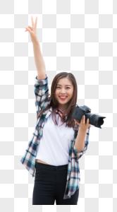 旅行女孩相机图片