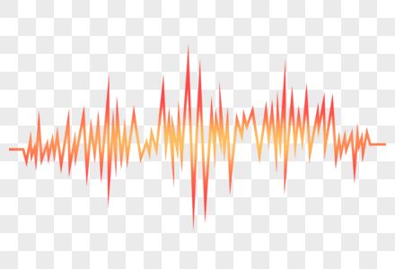 声音波纹图片