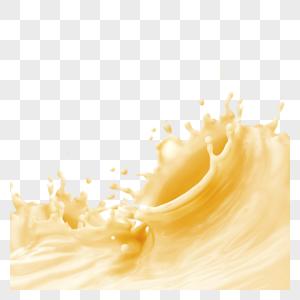 鲜美可口果汁奶茶图片