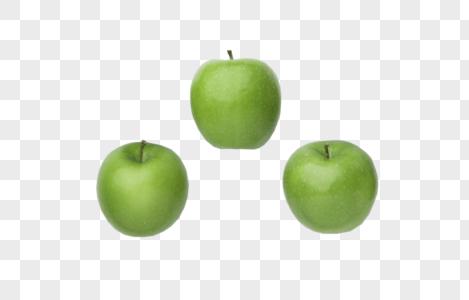 三个青苹果图片