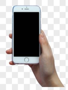 手拿苹果手机图片