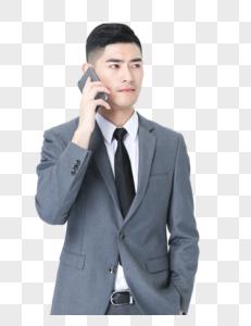 老板打电话图片
