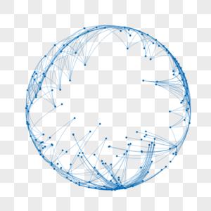 灰色科技圆环图片