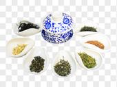 茶叶和茶具图片