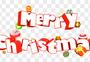 圣诞节创意立体字图片