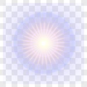 光效光圈元素图片