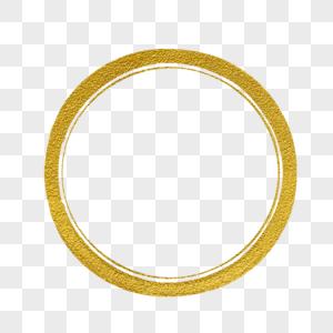 金色圆圈图片