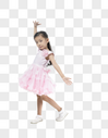 跳舞的小女孩图片