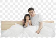 父亲和孩子图片