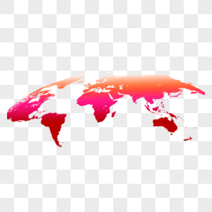黄色世界地图图片