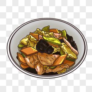 木须肉图片