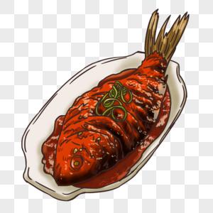 糖醋鲤鱼图片
