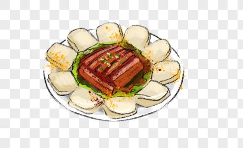 年夜饭梅菜扣肉图片
