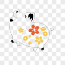 猪形象图片