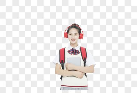 女学生形象图片