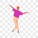 跳舞的女人图片