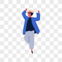 跳舞的男人图片
