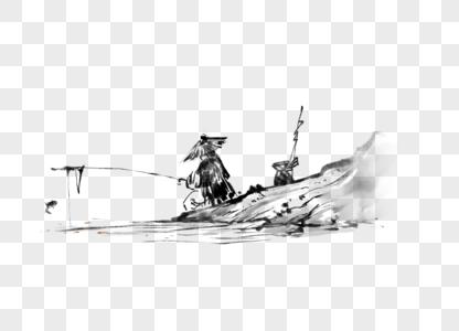 钓鱼翁图片