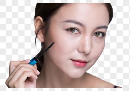 化妆女士图片