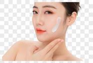 女性面部护肤图片