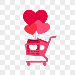 情人节购物图片