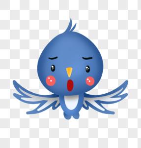 吃惊燕子表情图片