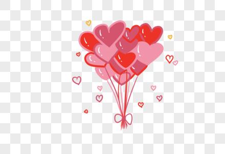 情人节气球图片